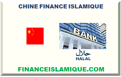 CHINE FINANCE ISLAMIQUE